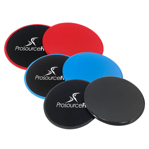 Prosource Core Sliders - Dual-Sided Exercise Discs