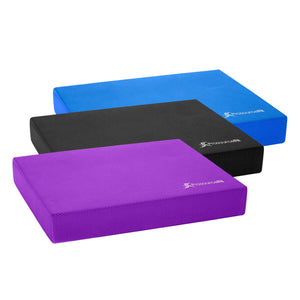 Prosource Exercise Balance Pad - Non-Slip Cushioned Foam Mat