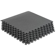 Load image into Gallery viewer, Prosource Exercise Puzzle EVA Foam Mat - 1/2 inch grey