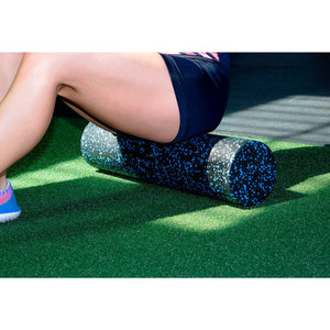 Prosource-High-Density-Speckled-Foam-Roller-12x6-blue