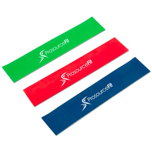 Prosource Loop Resistance Bands Set of 3 - 2-inch Wide