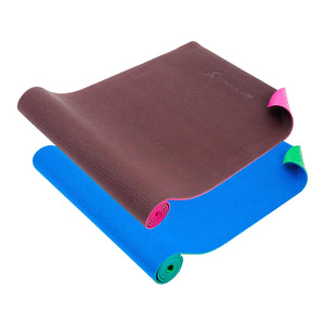 "Prosource Multi-Color Original Yoga Exercise Mat 1/4"" (6mm Thickness)"