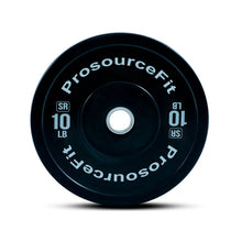 Load image into Gallery viewer, Prosource SR Bumper Plates (Set of 2) for Lifting and Crossfit - 10 lbs