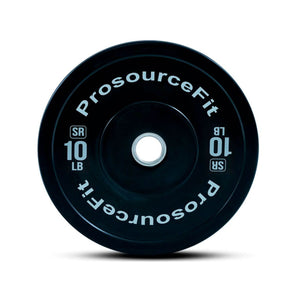 Prosource SR Bumper Plates (Set of 2) for Lifting and Crossfit - 10 lbs