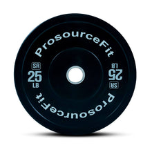 Load image into Gallery viewer, Prosource SR Bumper Plates (Set of 2) for Lifting and Crossfit - 25 lbs