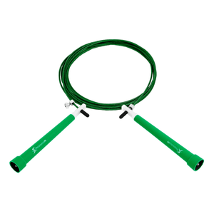 Prosource Speed Jump Rope with Adjustable Length green