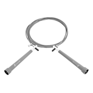 Prosource Speed Jump Rope with Adjustable Length grey