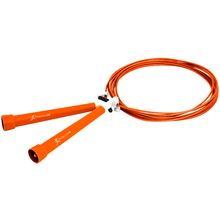 Load image into Gallery viewer, Prosource Speed Jump Rope with Adjustable Length orange