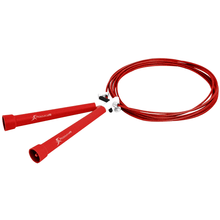 Load image into Gallery viewer, Prosource Speed Jump Rope with Adjustable Length red