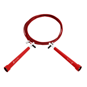 Prosource Speed Jump Rope with Adjustable Length red