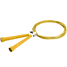 Load image into Gallery viewer, Prosource Speed Jump Rope with Adjustable Length yellow