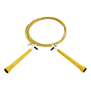 Prosource Speed Jump Rope with Adjustable Length yellow