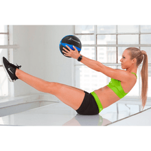 Load image into Gallery viewer, Prosource Weighted Medicine Ball for Full Body Workouts 4lb