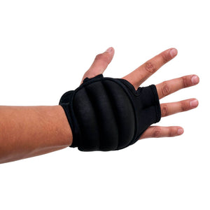 Prosource Weighted Neoprene Gloves - Pair of 1 lb each black