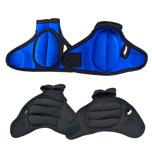 Prosource Weighted Neoprene Gloves - Pair of 1 lb each