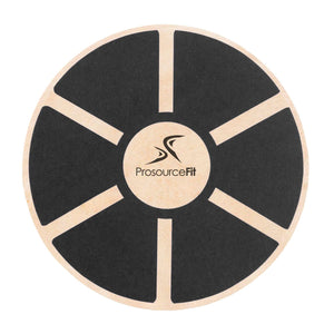 Prosource Wooden Balance Board - Core Trainer black