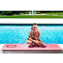 "Load image into Gallery viewer, Prosource Yoga Exercise Pilates Mats 3/16"" (5mm thick) - Printed Design satya"