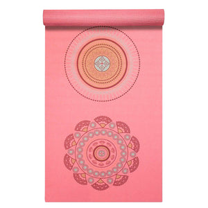 "Prosource Yoga Exercise Pilates Mats 3/16"" (5mm thick) - Printed Design satya"