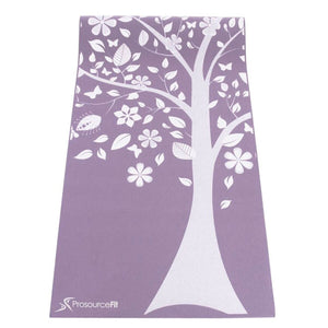 "Prosource Yoga Exercise Pilates Mats 3/16"" (5mm thick) - Printed Design tree"