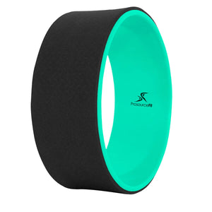 Prosource Yoga Wheel for Stretching and Support green black
