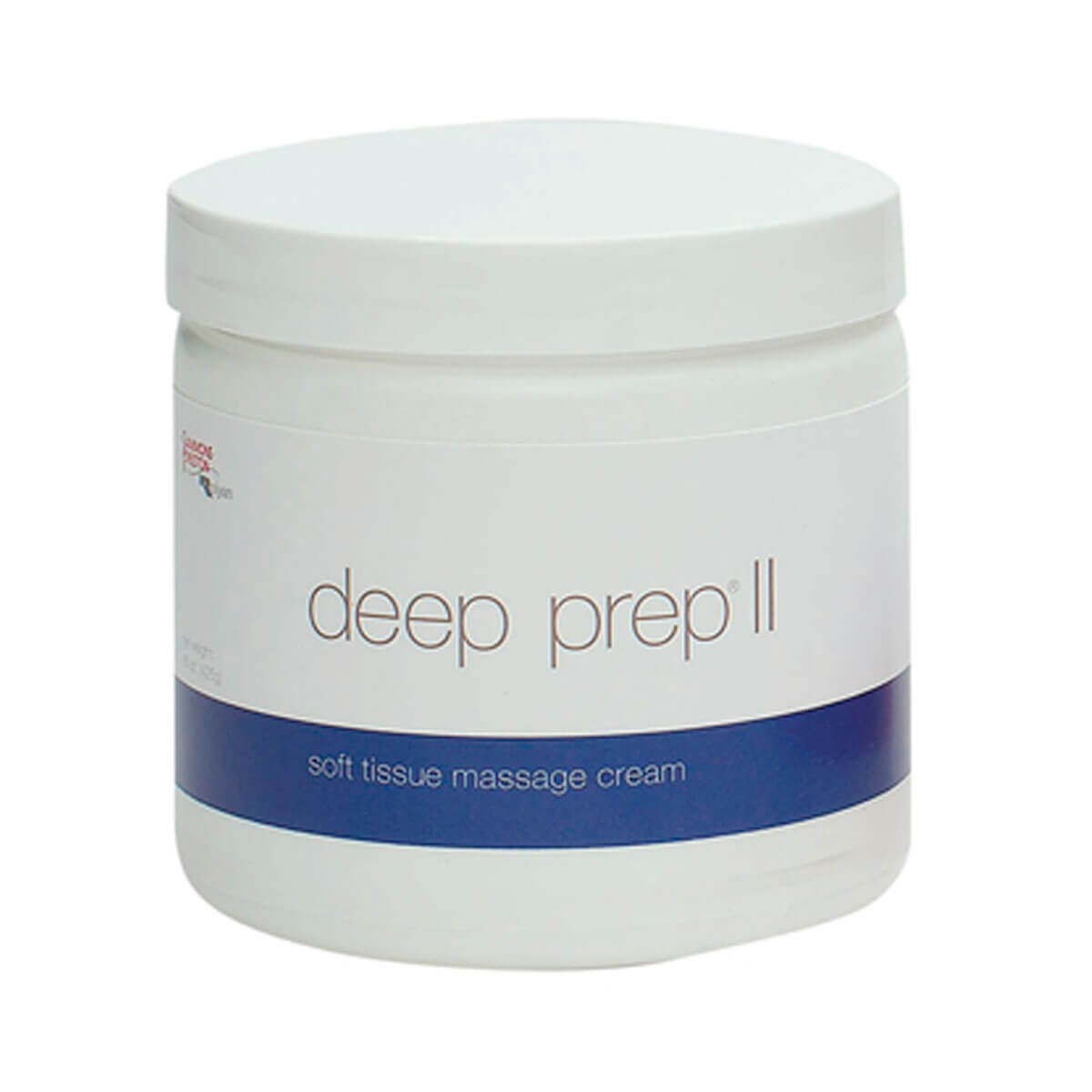 Rolyan Deep Prep® Massage Cream II cream blue label