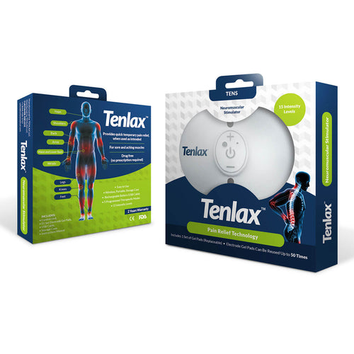 Tenlax TENS Neuromuscular Electrical Stimulator Device