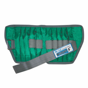 The Adjustable Cuff® Wrist or Ankle Weight - With Inserts - Each green