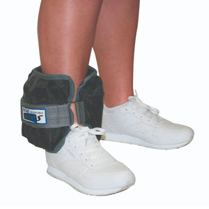 The Adjustable Cuff® Wrist or Ankle Weight - With Inserts - Each black