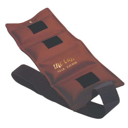 The Cuff® Original Ankle and Wrist Weight - 0.5 lb - Walnut