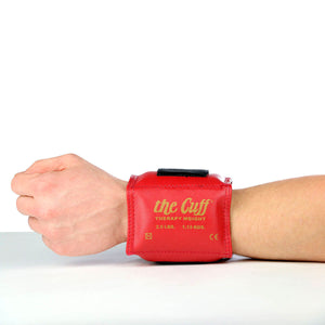 The Cuff® Original Ankle and Wrist Weight - 2.5 lb - Red