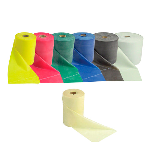 TheraBand® Latex Exercise Band - Twin-Pak 100 Yard Roll