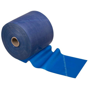 TheraBand® Latex Resistance Exercise Band - 50 Yard Roll blue