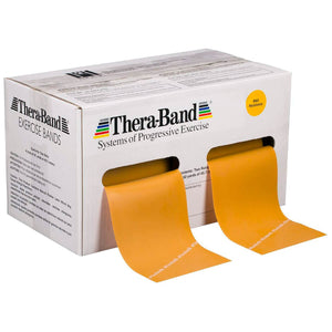 TheraBand® Latex Resistance Exercise Band - 50 Yard Roll gold