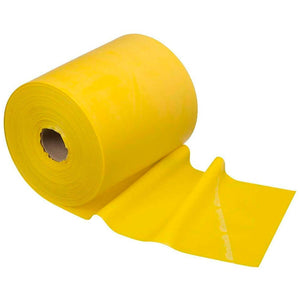 TheraBand® Latex Resistance Exercise Band - 50 Yard Roll yellow