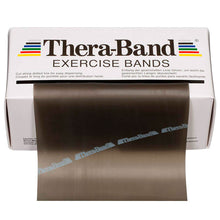 Load image into Gallery viewer, TheraBand® Latex Resistance Exercise Band - 6-yard Dispenser Box black