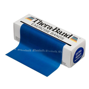 TheraBand® Latex Resistance Exercise Band - 6-yard Dispenser Box blue