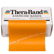 Load image into Gallery viewer, TheraBand® Latex Resistance Exercise Band - 6-yard Dispenser Box gold