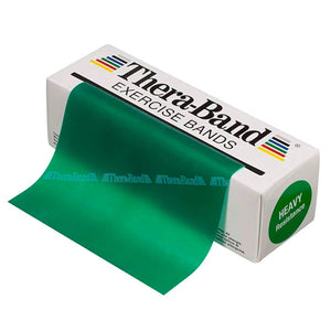 TheraBand® Latex Resistance Exercise Band - 6-yard Dispenser Box green