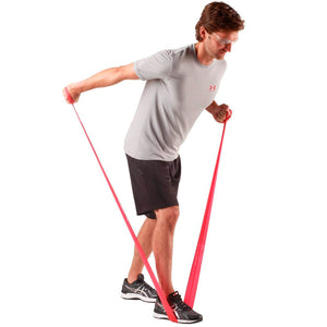 TheraBand® Latex Resistance Exercise Band - 6-yard Dispenser Box red