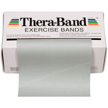 Load image into Gallery viewer, TheraBand® Latex Resistance Exercise Band - 6-yard Dispenser Box grey