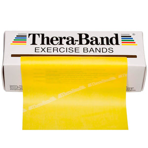TheraBand® Latex Resistance Exercise Band - 6-yard Dispenser Box yellow