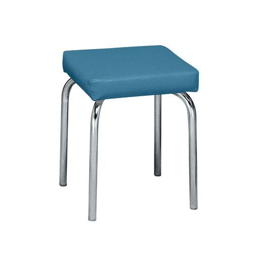 Stationary Stool with no Back - Square Top 18