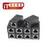 RJ45 Cat7 Cat6 Cat5E Cable Extender Adapter