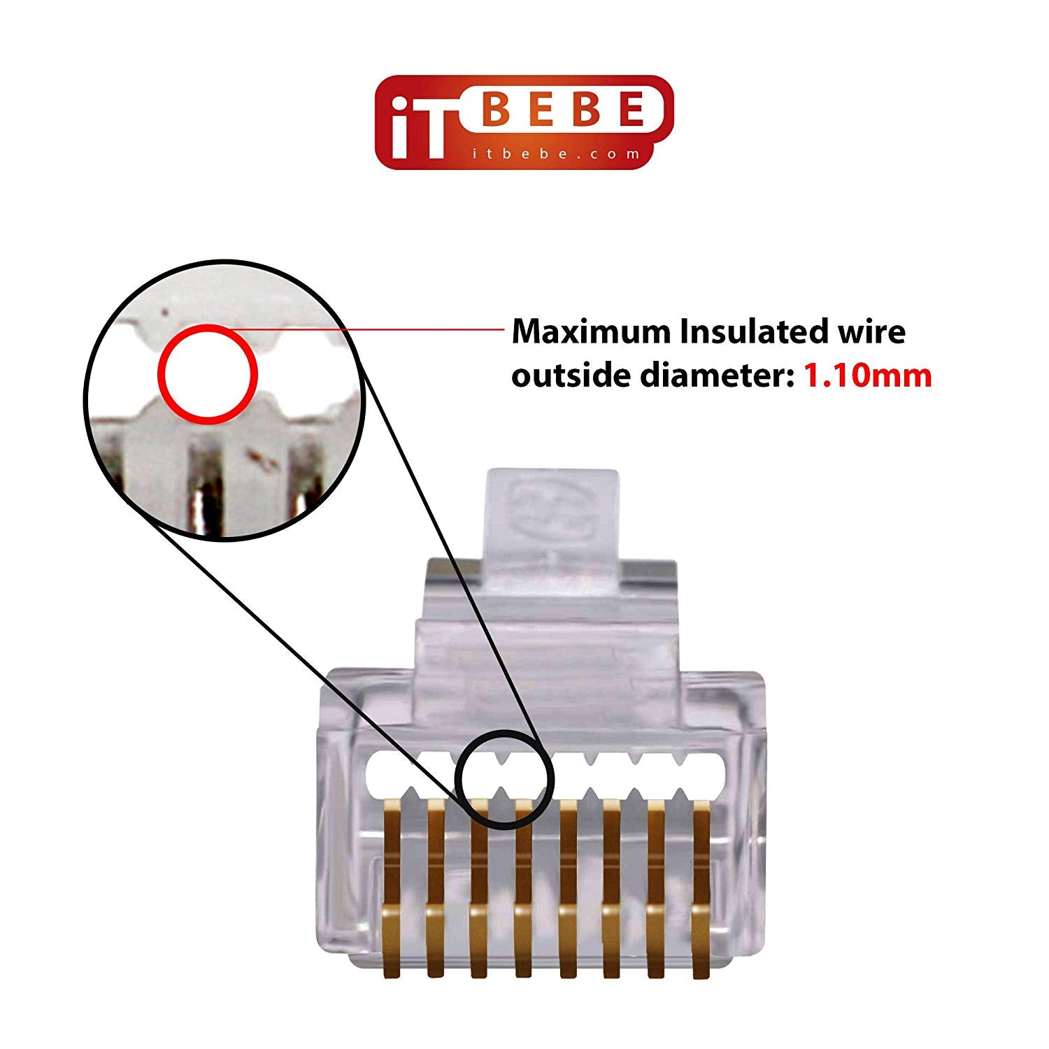 rj45 inline coupler wiring diagram buy gold plated pass through rj45 cat6 connectors online itbebe  pass through rj45 cat6 connectors
