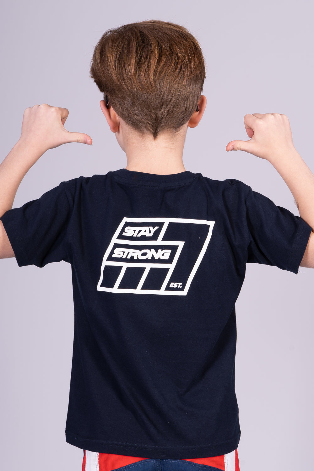 7 GRID / TEE / KIDS / NAVY