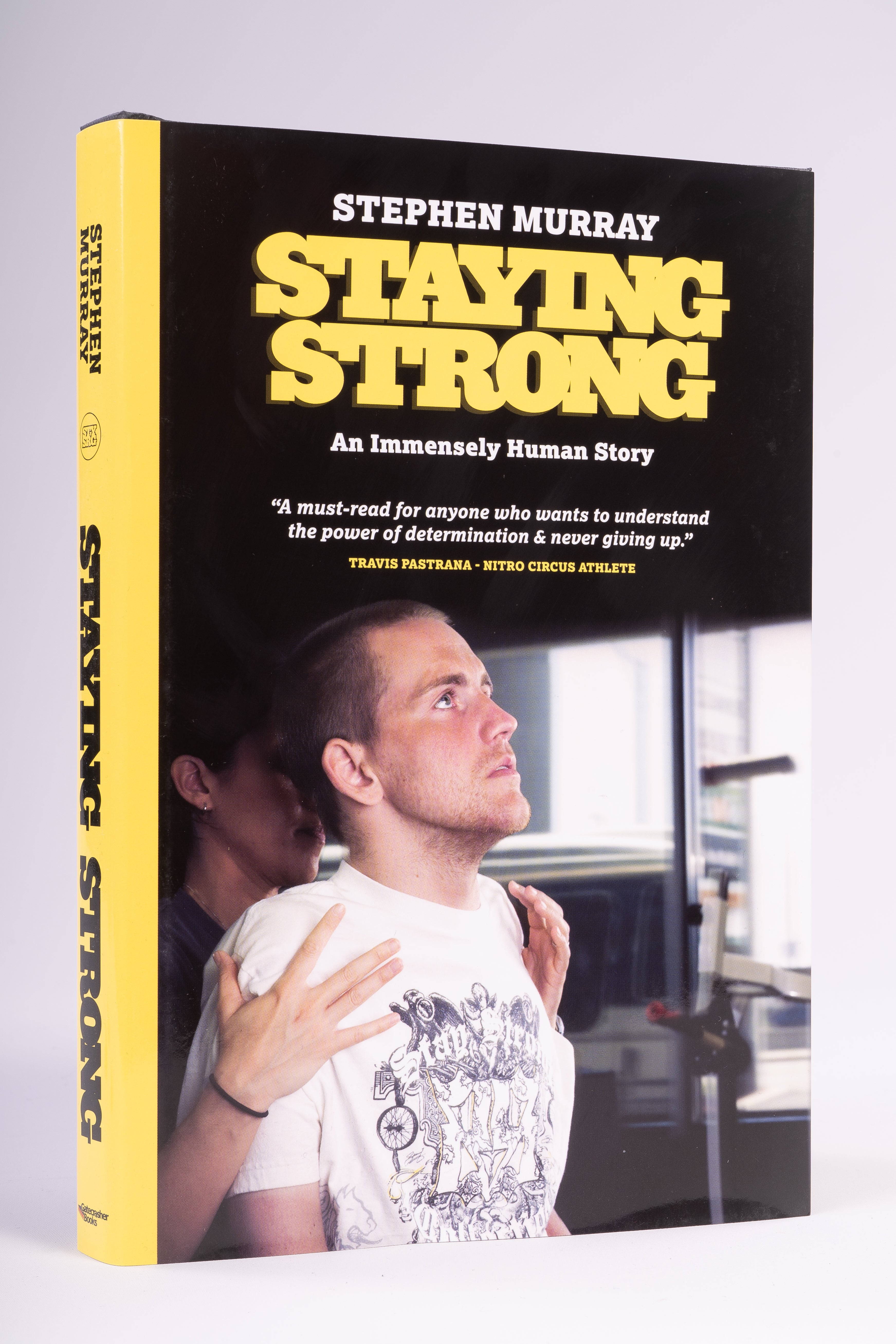 STEPHEN MURRAY - 'STAYING STRONG' AUTOBIOGRAPHY