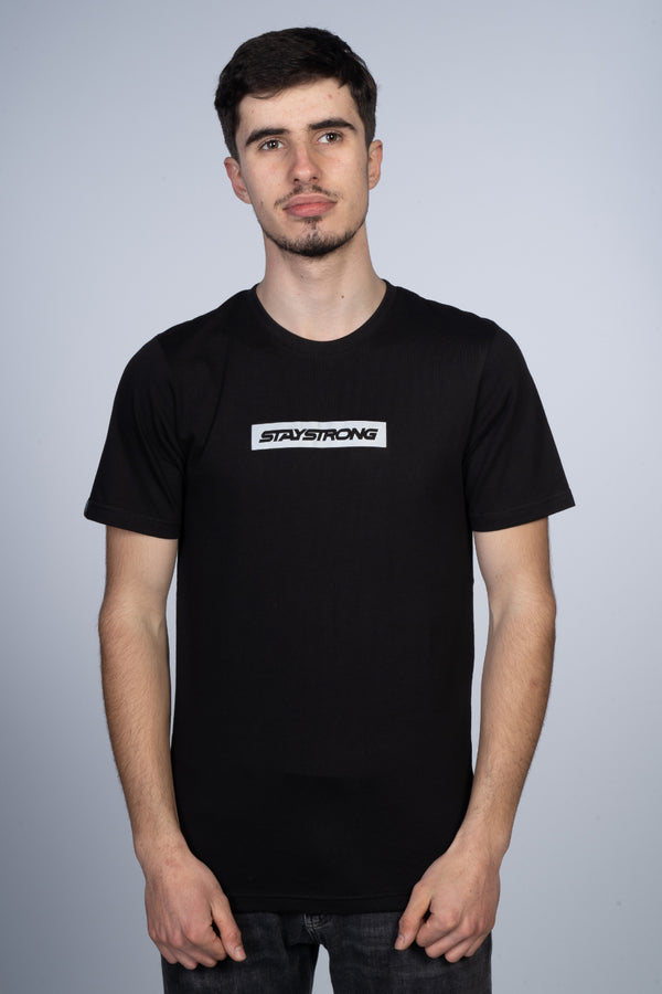 WORD BOX REFLECTIVE / TEE / BLACK
