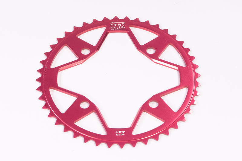 7075 ALLOY / 4 BOLT / CHAINRING / RED
