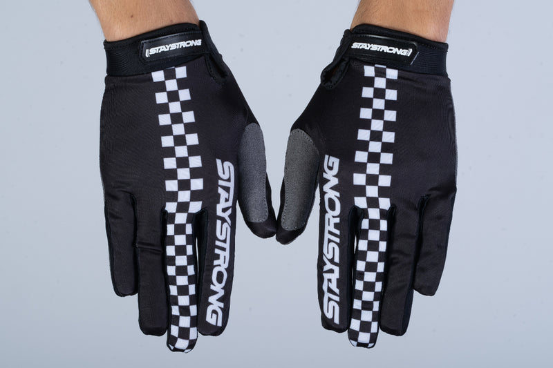 CHECKER / GLOVES / ADULT / BLACK