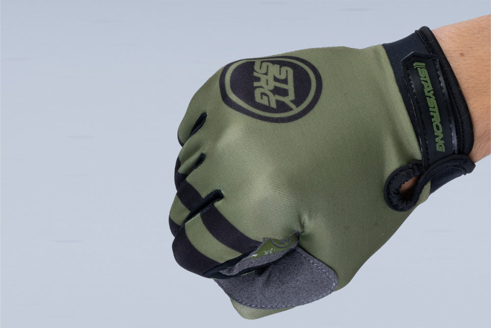 CHEVRON / GLOVES / YOUTH / ARMY GREEN